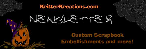 KritterKreations.com Newsleter