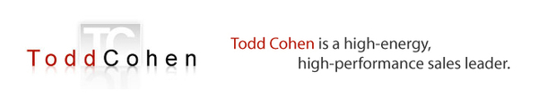 Todd Cohen, Sales Leader