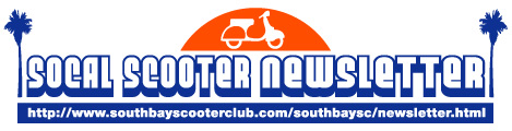 SoCal Scooter Newsletter
