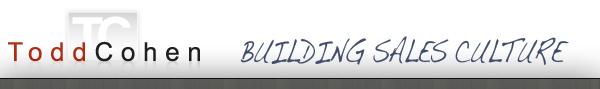 Todd Cohen - Building Sales Culture