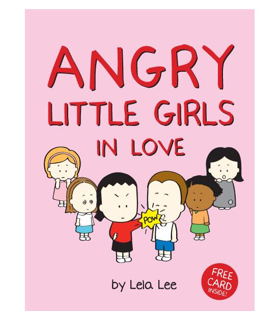 cartoon girl angry