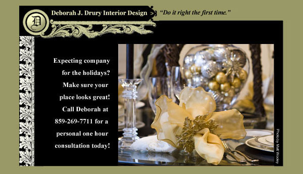 Deborah Drury Interior Design