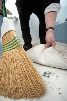 Sweeping Glass