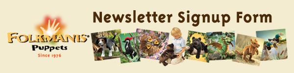 Folkmanis Newsletter Signup