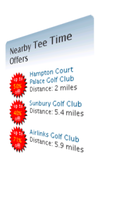 Golf Online Tee-time Booking