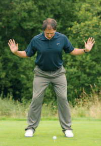 Golf Posture