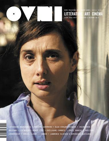 OVNI Magazine no 02, couverture (Catherine Mavrikakis, été 2008, par Amélie Barrette)