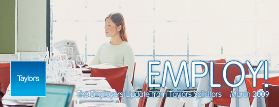 Taylors Solicitors - Employ! Newsletter